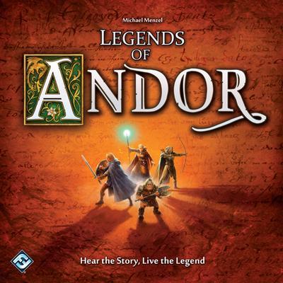 Fantasy Flight Games Legends of Andor (Engelska)