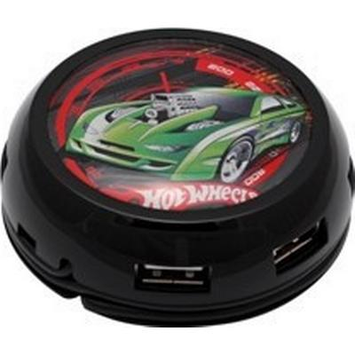 Modecom UFO-TURBO7HUB-HOT_WHEELS 7-Port USB 2.0 Extern