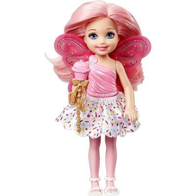 Mattel Barbie Dreamtopia Small Fairy Cupcake Theme Doll