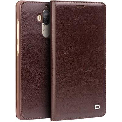 Qialino Magnetic Classic Leather Case (Mate 9)