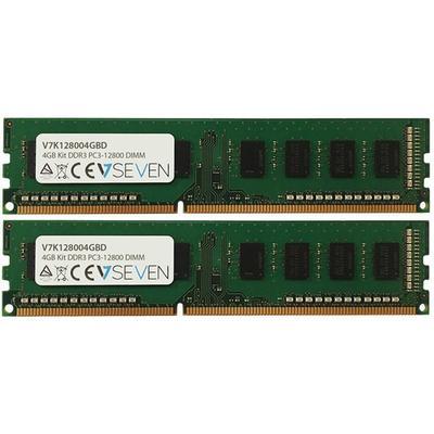 V7 DDR3 1600MHz 2X2GB (V7K128004GBD)