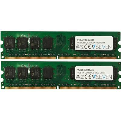 V7 DDR2 800MHz 2X2GB (V7K64004GBD)