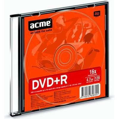 Acme DVD+R 4.7GB 16x Slimcase 1-Pack