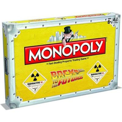 Monopoly: Back to the Future (Engelska)