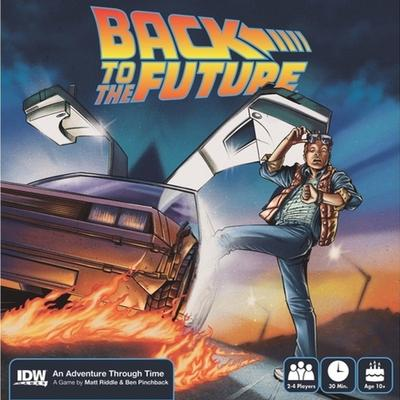 IDW Back to the Future An Adventure Through Time