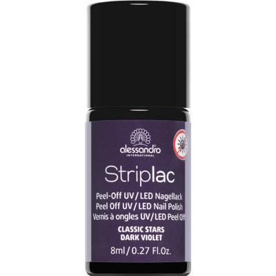 Alessandro Striplac Nail Polish #45 Dark Violet 8ml