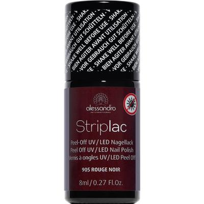 Alessandro Striplac Nail Polish #905 Rouge Noir 8ml