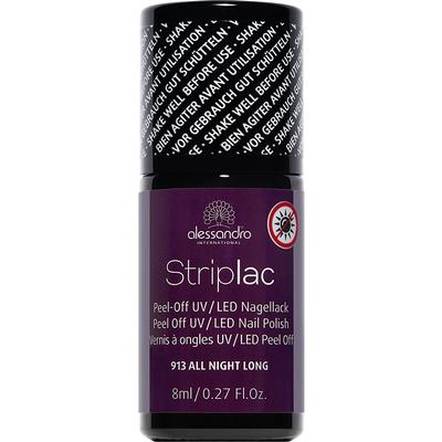 Alessandro Striplac Nail Polish #913 All Night Long 8ml