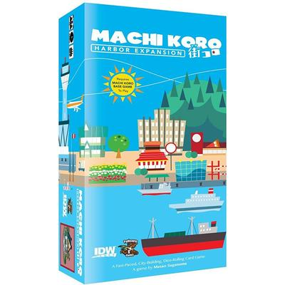 IDW Machi Koro Harbor Expansion