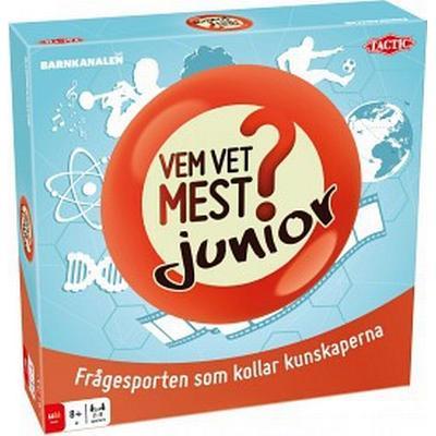 Tactic Vem Vet Mest? Junior (Svenska)
