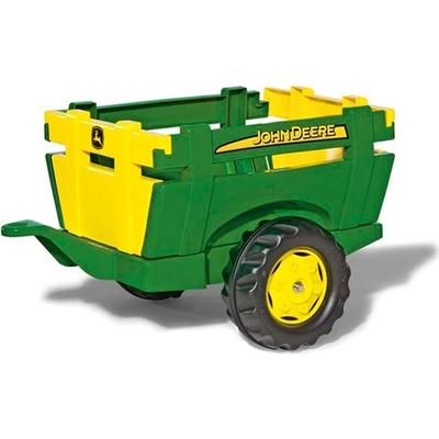 Rolly Toys John Deere Farm Trailer Green