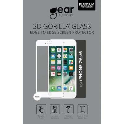 Gear by Carl Douglas Full Fit Glass Corning Screen Protector (iPhone 6/6S/7)