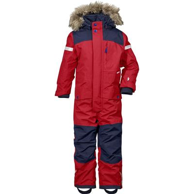 Didriksons Björnen Kid's Coverall - Red (172501452040)