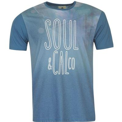 SoulCal Sublimation T-shirt Green Solid (59901593)