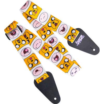 Access All Areas Adventure Time Finn & Jake Fabric Guitar Strap
