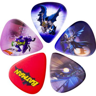 Access All Areas Batman Guitar Plectrums Set of 5