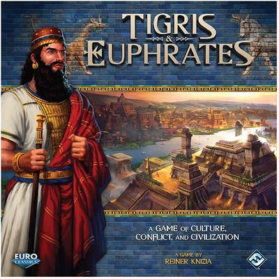 Fantasy Flight Games Tigris & Euphrates (Engelska)