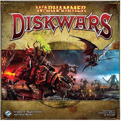 Fantasy Flight Games Warhammer: Diskwars (Engelska)