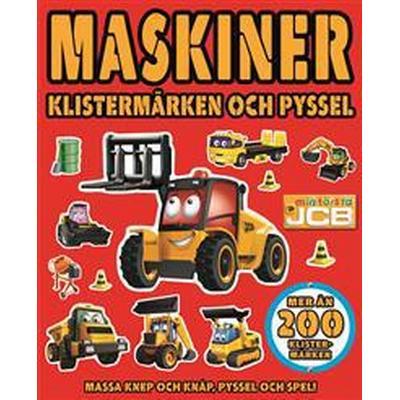 Maskiner. Klistermärken och pyssel (Häftad, 2017)