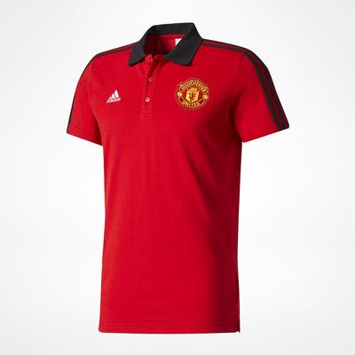 Adidas Manchester United 3S Polo T-Shirt
