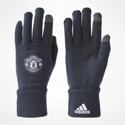 Adidas Manchester United Gloves Grey