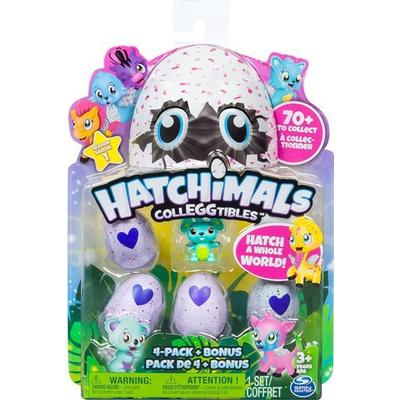 Spin Master Hatchimals Colleggtibles 4 Pack + Bonus