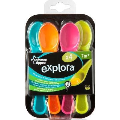 Tommee Tippee Explora Feeding Spoon 7m+ 4-pack