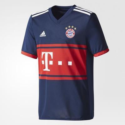 Adidas FC Bayern Munich Away Jersey 17/18 Youth