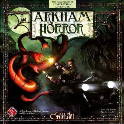 Fantasy Flight Games Arkham Horror (Engelska)