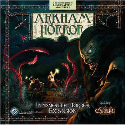 Fantasy Flight Games Arkham Horror Innsmouth Horror (Engelska)