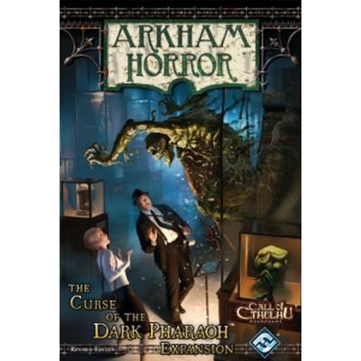 Fantasy Flight Games Arkham Horror Curse of the Dark Pharaoh Revised Edition (Engelska)