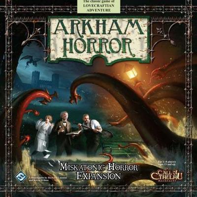 Fantasy Flight Games Arkham Horror Miskatonic Horror (Engelska)