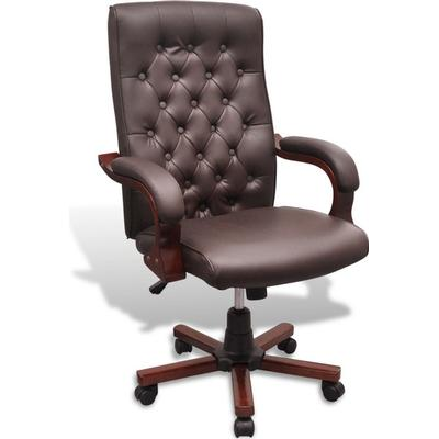 vidaXL 20110 Chesterfield Office Chair Karmstol, Kontorsstol
