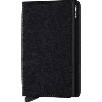 Secrid Slim Wallet - Crisple Black