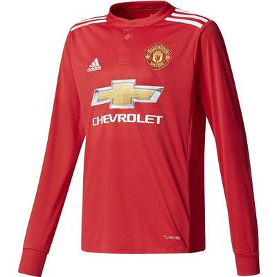 Adidas Manchester United Home LS Jersey 17/18 Youth