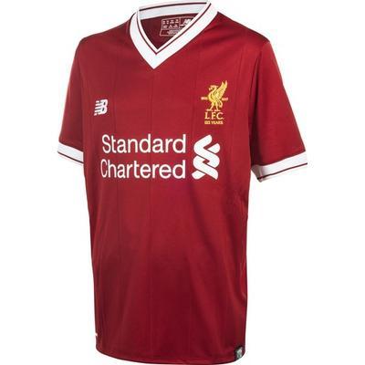 New Balance Liverpool FC Home SS 17/18, fotbollströja junior Röd 140-146