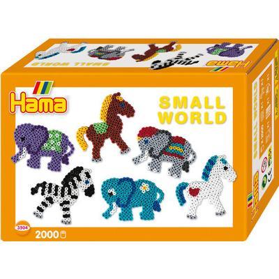 Hama Midi Beads Pony & Elephant Small World Gift Set 3504