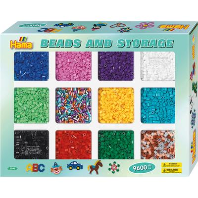 Hama Midi Beads with Storage Tray 2095