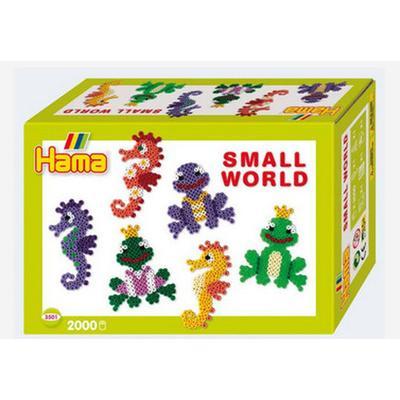 Hama Seahorse & Frog Small World Gift Set 3501