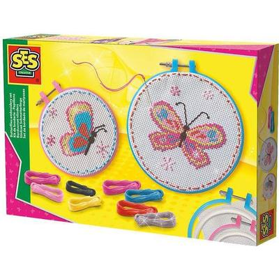 SES Creative Embroidery Set Butterflies 14658