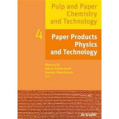Paper Products Physics and Technology (Pocket, 2016)