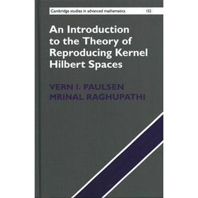 An Introduction to the Theory of Reproducing Kernel Hilbert Spaces (Inbunden, 2016)