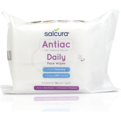 Salcuras Antiac Daily Face Wipes 25-pack