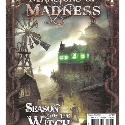 Fantasy Flight Games Arkham Horror: Mansions of Madness: Season of the Witch (Engelska)