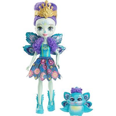 Mattel Enchantimals Patter Peacock Doll