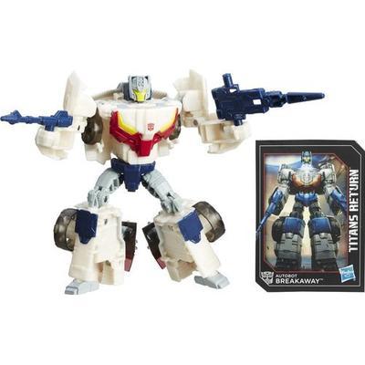 Hasbro Transformers Generations Titans Return Autobot Breakaway & Autobot Throttle C0274