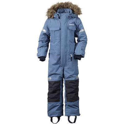Didriksons Migisi Kid's Coverall - Coldsmoke Blue (162501063194)