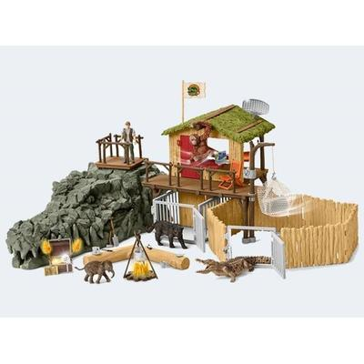 Schleich Croco Jungle Research Station 42350