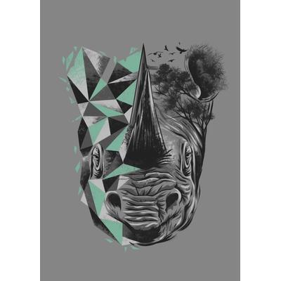 Black Rhino Black Rhino 32x45cm Affisch