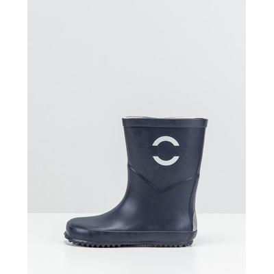 Mikk-Line Rubber Boots Dark Blue